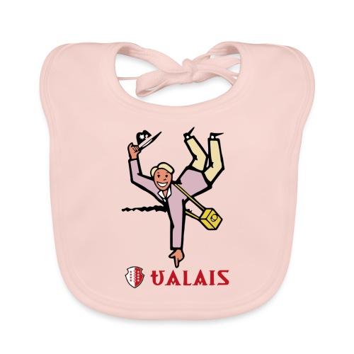 Valais Wallis - Vintage - Baby Bio-Lätzchen