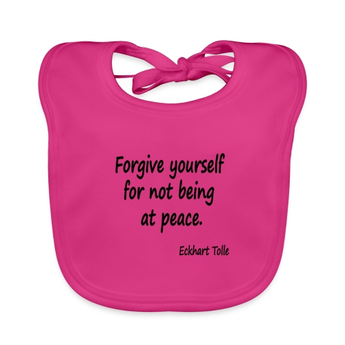 Forgive Yourself - Baby Organic Bib