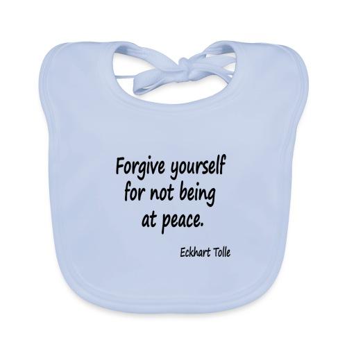 Forgive Yourself - Baby Organic Bib