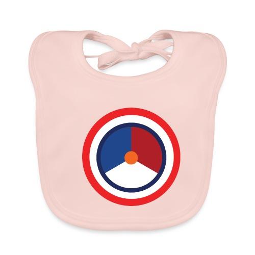 Nederland logo - Bio-slabbetje voor baby's