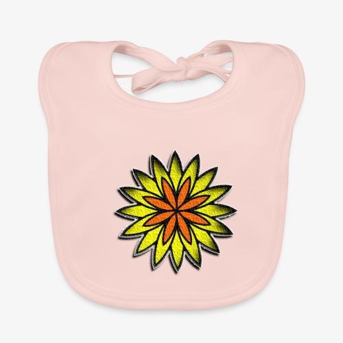 SOLRAC Sun - Babero de algodón orgánico para bebés