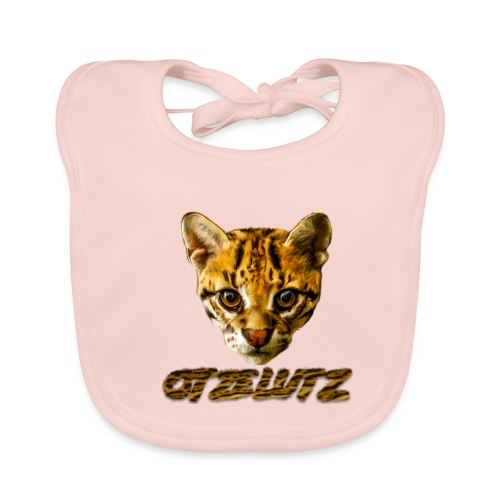 Otzelutz Logo Text Furry - Baby Bio-Lätzchen