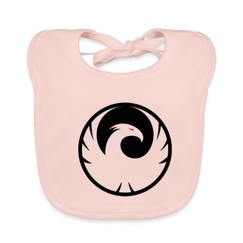 Phönix Logo Schattierung Phoenix schwarz black - Baby Bio-Lätzchen
