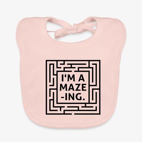A maze -ING. Die Ingenieurs-Persönlichkeit. - Baby Bio-Lätzchen