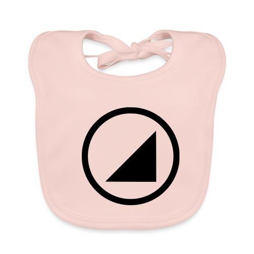 bulgebull marca oscura - Babero de algodón orgánico para bebés