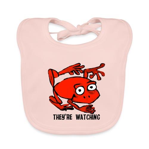 red frog - Bavaglino ecologico per neonato