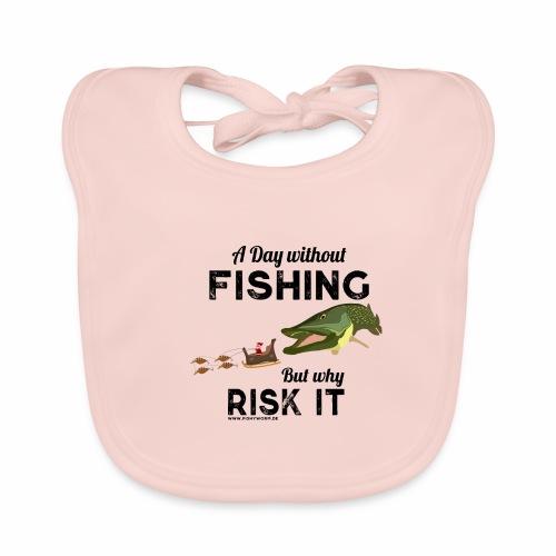 A Day Fishing Tag Angeln Weihnachten Hecht Crank - Baby Bio-Lätzchen