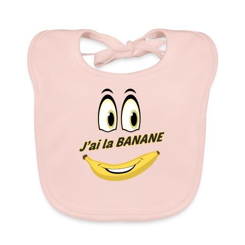 J ai la banane - Bavoir bio Bébé