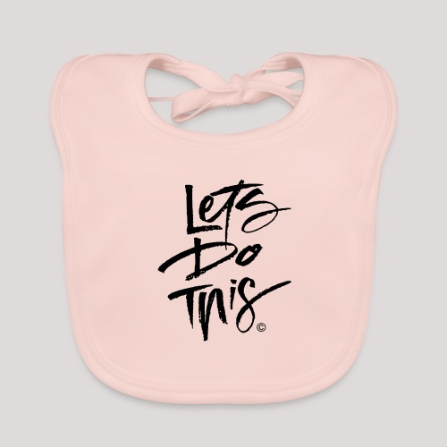 LDT Clear MASTER BLK - Organic Baby Bibs