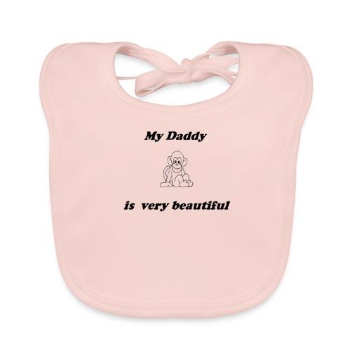 My daddy - Bavoir bio Bébé