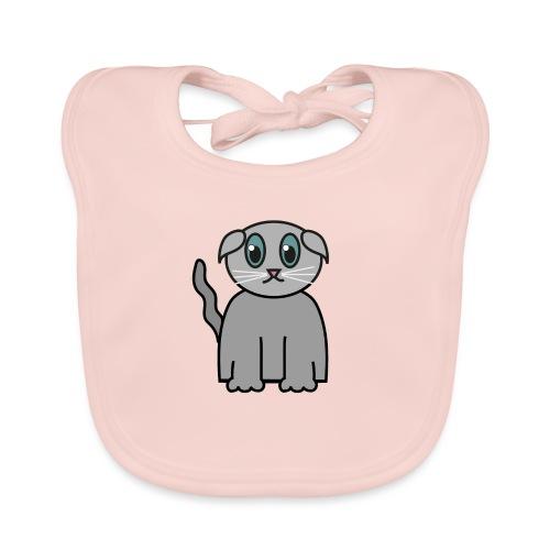 Süßes Kätzchen - Baby Bio-Lätzchen