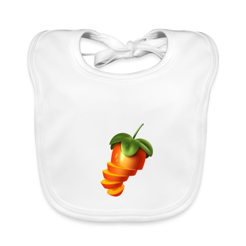 Sliced Sweaty Fruit - Baby Organic Bib