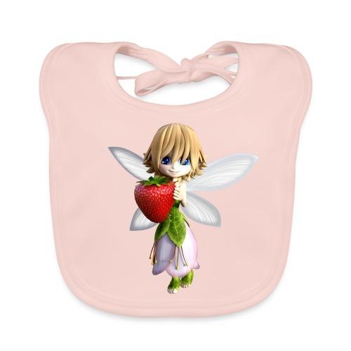 Strawberry - Fairy - Baby Bio-Lätzchen