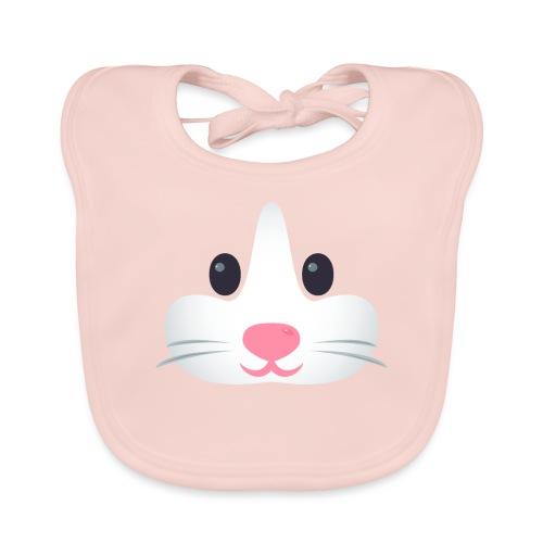 Emoticon Hamster - Bavoir bio Bébé