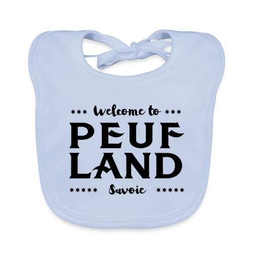 Peuf Land 73 - Savoie - Black - Bavoir bio Bébé