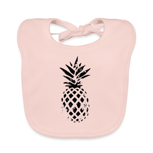 ananas - Bavoir bio Bébé