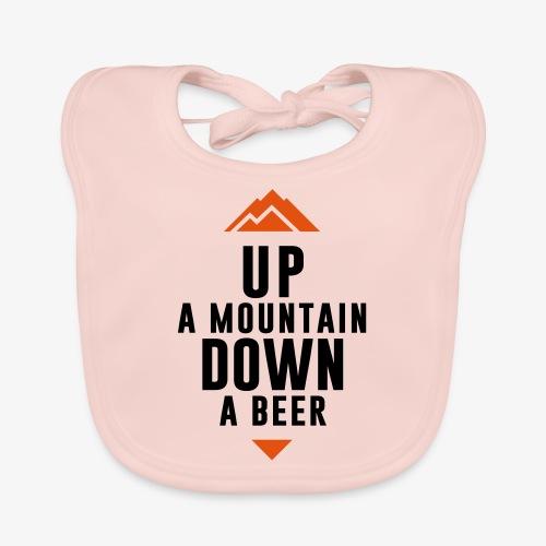UP Mountain Down Beer - Bavoir bio Bébé