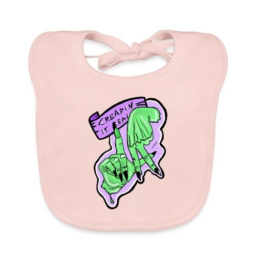 Creapin it real green witch halloween - Ekologiczny śliniaczek