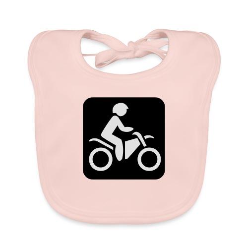 motorcycle - Vauvan luomuruokalappu