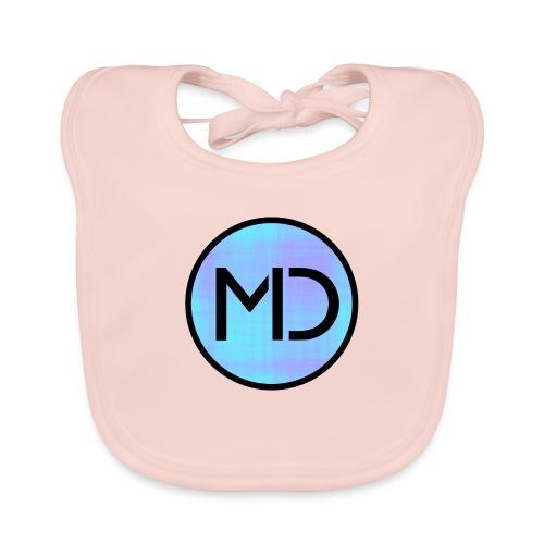 MD Blue Fibre Trans - Baby Organic Bib