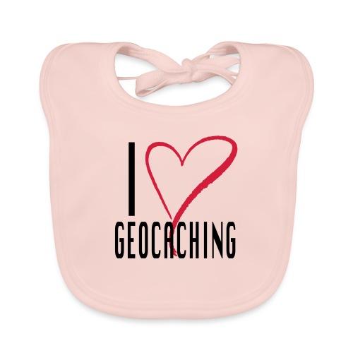 I love Geocaching - Vauvan ruokalappu
