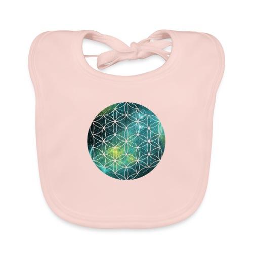 FlowerOfLife Cool - Bio-slabbetje voor baby's