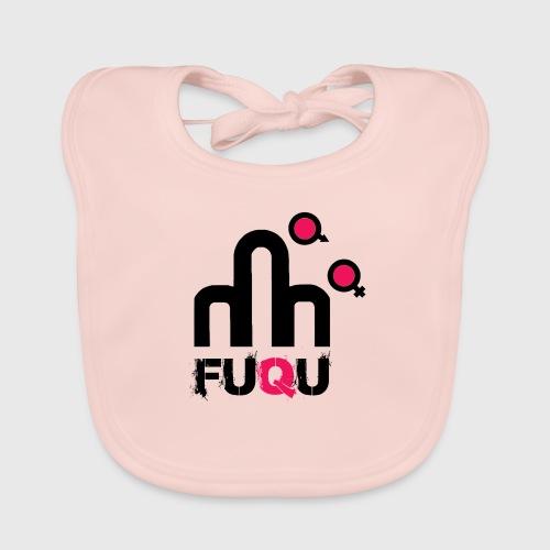 T-shirt FUQU logo colore nero - Bavaglino