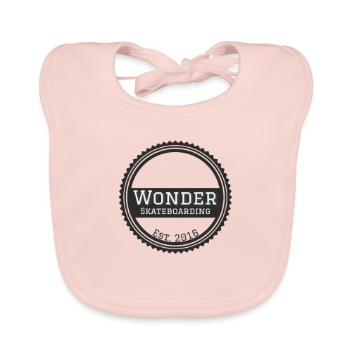 Wonder Longsleeve - round logo - Baby økologisk hagesmæk