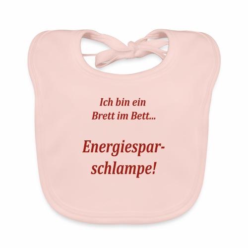 Energiesparschlampe - Baby Bio-Lätzchen