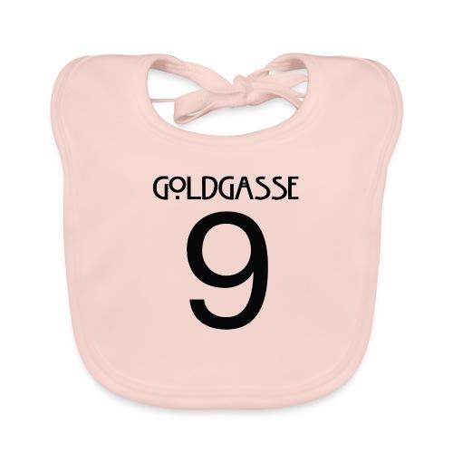 Goldgasse 9 - Back - Baby Organic Bib