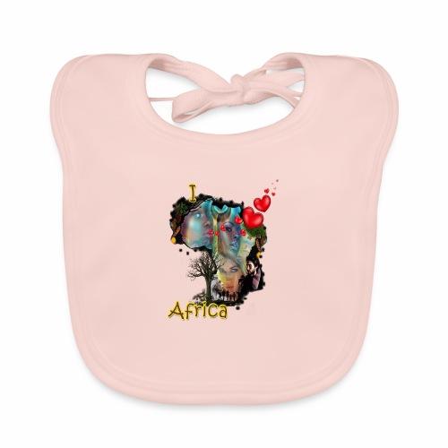 I love Africa - Organic Baby Bibs
