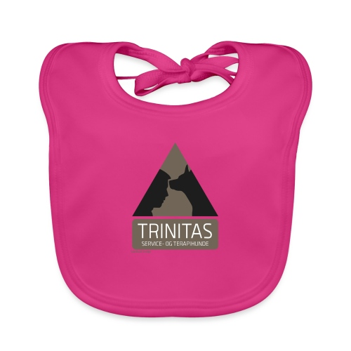Trinitas Nøglesnor - Baby økologisk hagesmæk