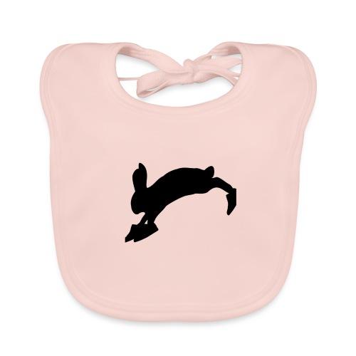 Bunny_Logo_Black - Baby økologisk hagesmæk