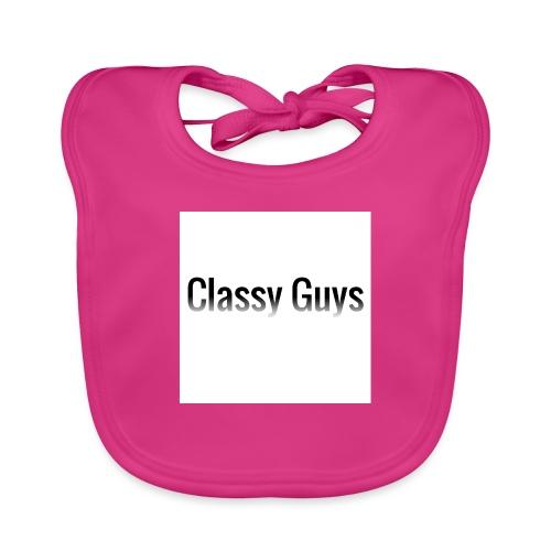 Classy Guys Simple Name - Baby Organic Bib