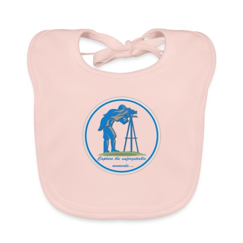Logo Capture the Moment - Baby Organic Bib