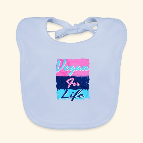 Vegan for Life - Baby Organic Bib