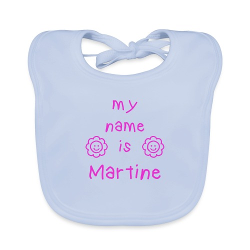 MARTINE MY NAME IS - Bavoir bio Bébé