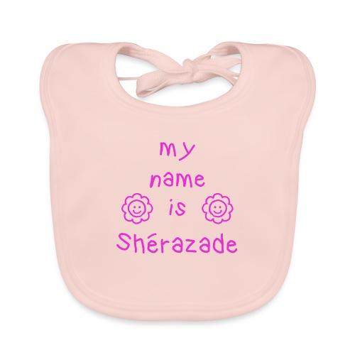 SHERAZADE MY NAME IS - Bavoir bio Bébé