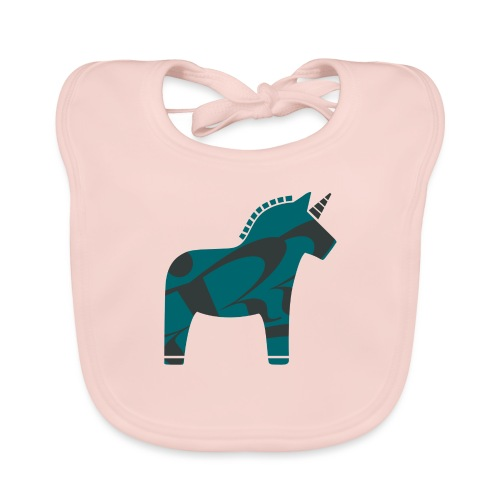Swedish Unicorn - Baby Bio-Lätzchen