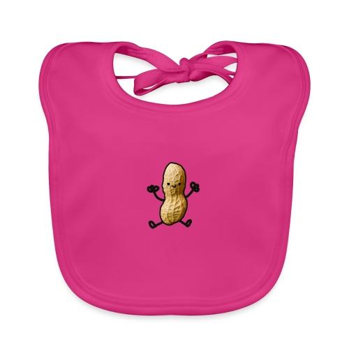 Pinda logo - Bio-slabbetje voor baby's
