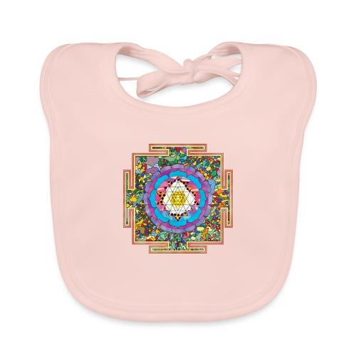 buddhist mandala - Baby Organic Bib