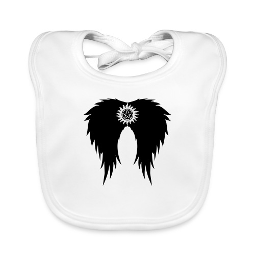 Supernatural wings (vector) Hoodies & Sweatshirts - Baby Organic Bib