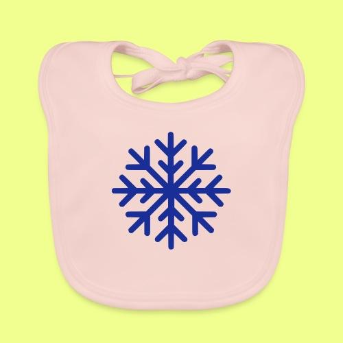 COPO DE NIEVE - Babero de algodón orgánico para bebés