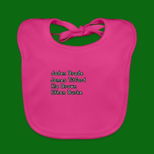 Glog names - Baby Organic Bib