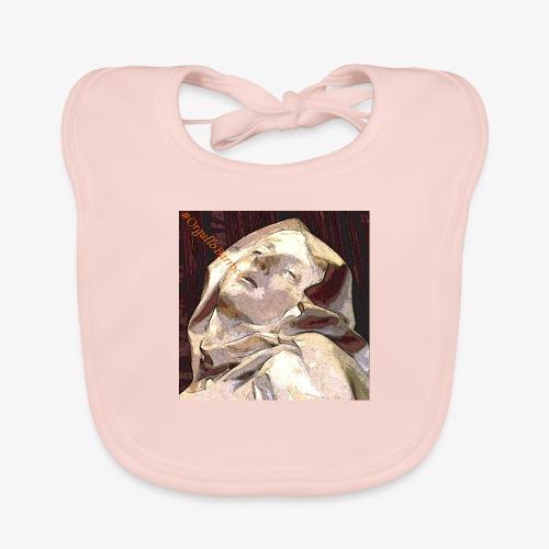 #OrgulloBarroco Teresa - Babero de algodón orgánico para bebés