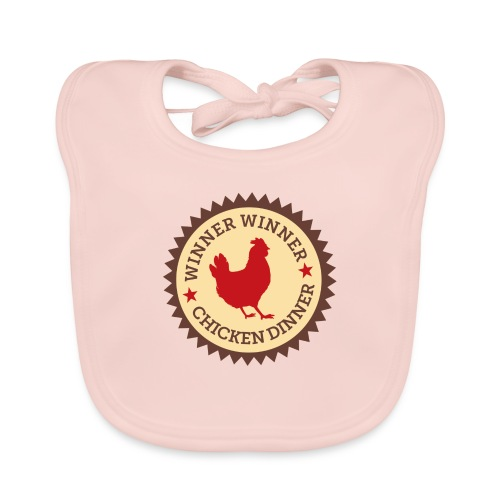 WINNER WINNER CHICKEN DINNER - Organic Baby Bibs