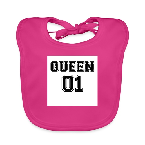 Queen 01 - Bavoir bio Bébé