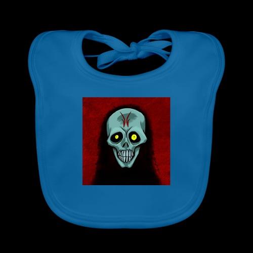 Ghost skull - Organic Baby Bibs