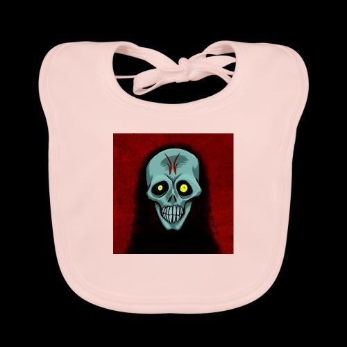 Ghost skull - Baby Organic Bib