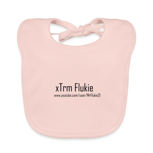 xTrm Flukie - Baby Organic Bib